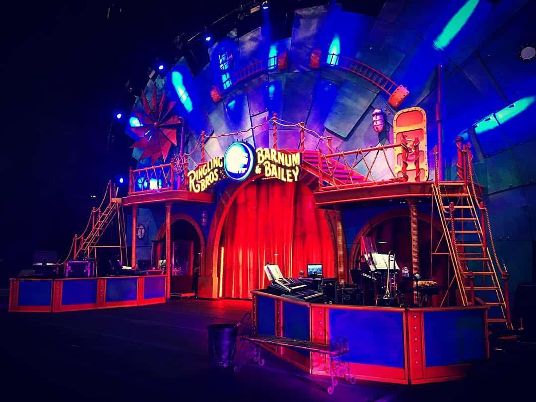 ringling bros band stand